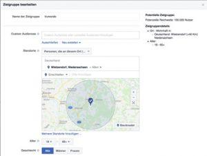 Zielgruppen für Facebook Werbung und Facebook Ads