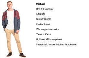 Facebook Zielgruppen Persona Michael
