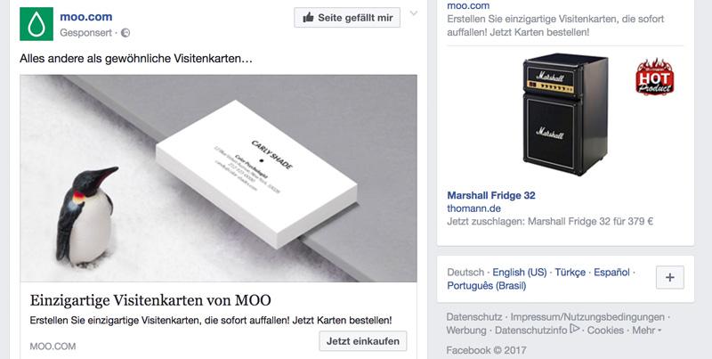 Facebook Anzeigen kosten nicht viel